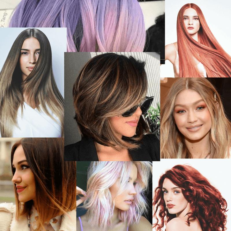 Trendy haarkleuren 2018
